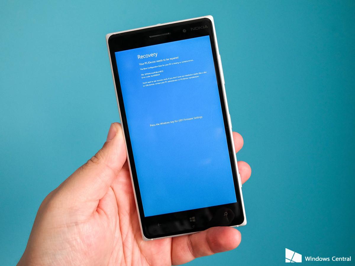 Lumia windows phone recovery